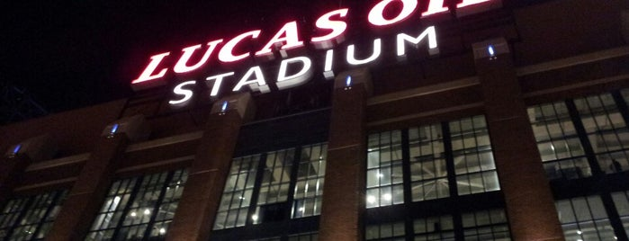 Lucas Oil Stadium is one of Sporting Venues To Visit.....