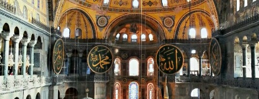 Hagia Sophia is one of 36 hours in...Istanbul.