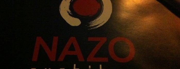 Nazo Sushi Bar is one of Restaurantes.