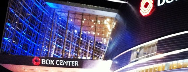 BOK Center is one of Tulsa.