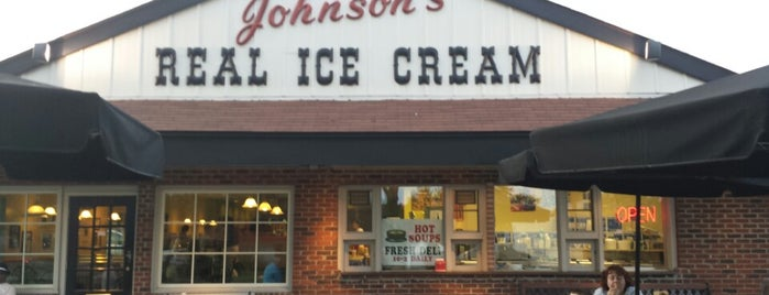 Johnson's Real Ice Cream is one of Guide to Bexley's best spots.