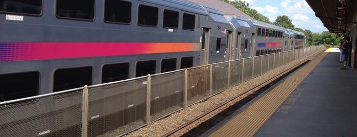 NJT - Somerville Station (RVL) is one of New Jersey Transit Train Stations.