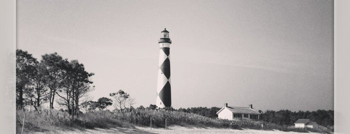 Cape Lookout Lighthouse is one of North Carolina.