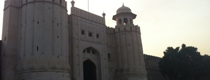 Lahore Fort is one of UNESCO World Heritage Sites (Asia).