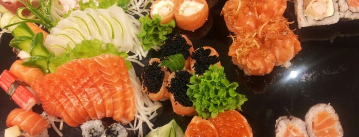 Hadouken Downtown is one of Sushi in Porto Alegre.