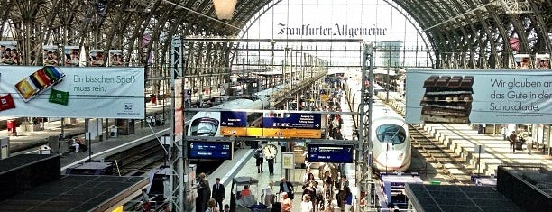 Frankfurt (Main) Hauptbahnhof is one of visited stations.