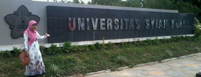Universitas Syiah Kuala is one of Best places in Aceh.