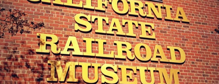 California State Railroad Museum is one of Northern California Railfans' List.