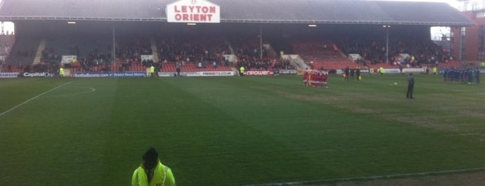 Matchroom Stadium is one of Football grounds in and around London.