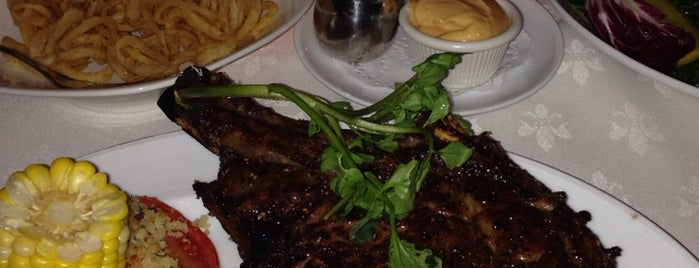 Rare Steakhouse is one of Little Falls hot spots.