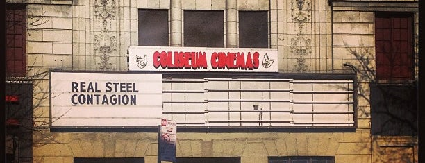 Coliseum Cinemas is one of As seen on Movies.