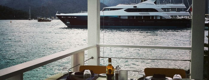The Breeze Restaurant is one of Göcek.