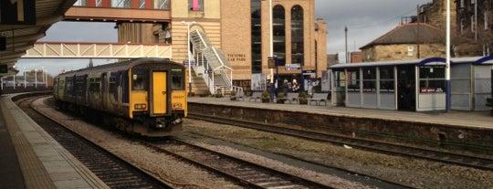 Harrogate Railway Station (HGT) is one of East Coast Network.
