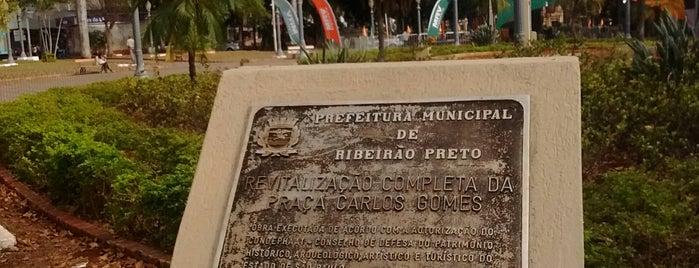 Praça Carlos Gomes is one of Centro - Ribeirão Preto.