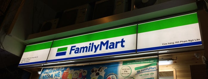 Family Mart is one of Japanese flair in Saigon.