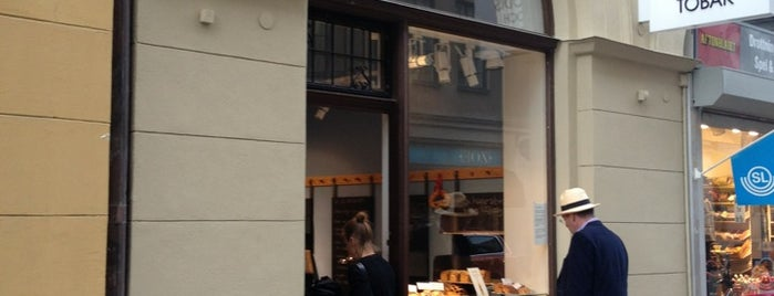 Bäckerei is one of Stockholm cafes with Wifi.