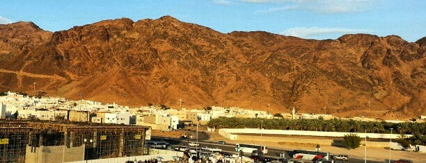 Uhud Mountain is one of Madinah.