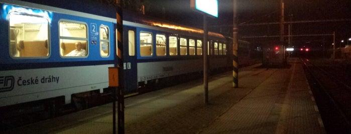 Železniční stanice Modřice is one of Železniční stanice ČR: M (7/14).