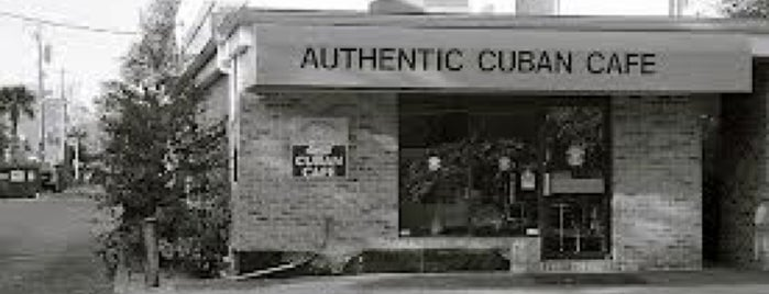 Authentic Cuban Cafe is one of Business contacts.