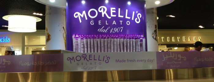 Morelli's Gelato is one of Dubai to-do list.