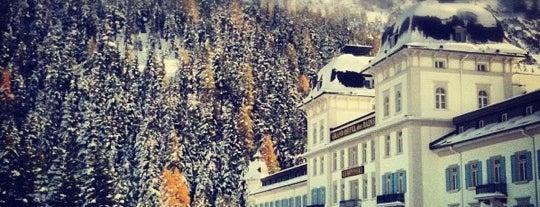 Grand Hotel Kronenhof Pontresina is one of Die schönsten Thermen und Wellnesshotels.