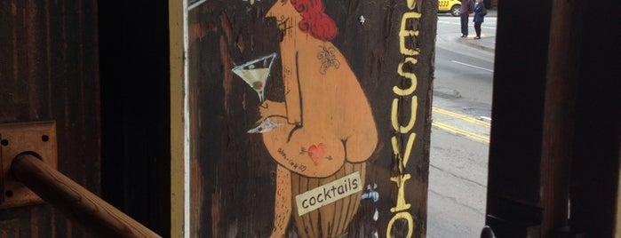 Vesuvio Cafe is one of The San Franciscans: Happy Hour.