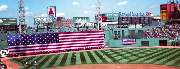 Fenway Park is one of Boston Trip.