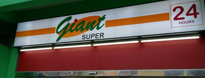 Giant Super is one of Places in the Lion City.