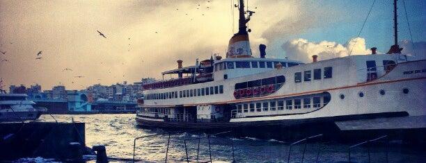 Eminönü - Kadıköy Vapuru is one of oldugum yerler.