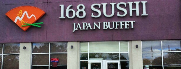 168 Sushi is one of Good Restaurants.