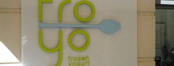 Froyo is one of Places to be for ice cream, deserts etc.