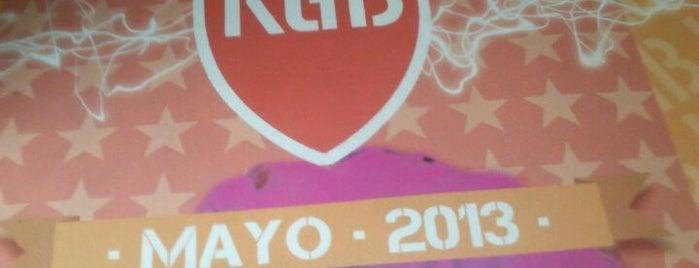 KGB is one of salas de conciertos.