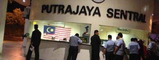 Putrajaya Sentral is one of Putrajaya.