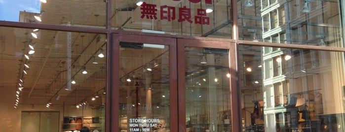 MUJI is one of New York.