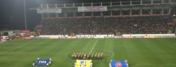Manisa 19 Mayıs Stadyumu is one of themaraton.