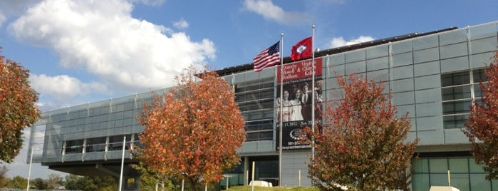 William J. Clinton Presidential Center and Park is one of U2 North America.