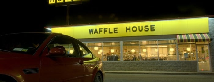 Waffle House is one of Places.