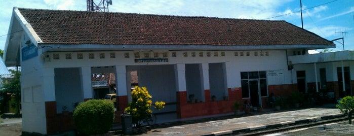 Stasiun Ketanggungan Barat is one of Kota Brebes (Decorate of Java) #4sqCities.