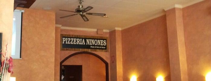 Pizzeria Ninones is one of Pizzas de Barcelona.