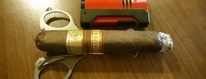 Oliva Cigar Lounge is one of Sigarenzaken/rooklounges.