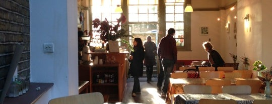 The Gallery Cafe is one of Cafés with Wifi and Plugs.