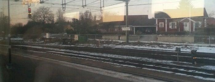 Kristinehamn Station is one of Tågstationer - Sverige.