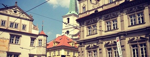 Malostranské náměstí is one of Prague.