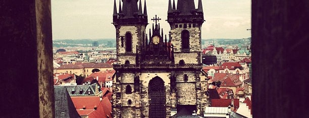 Church of Our Lady before Týn is one of Prague.