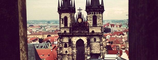 Kostel Matky Boží před Týnem is one of Prague.