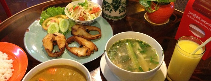 Cambodian food for A taste of cambodian cuisine