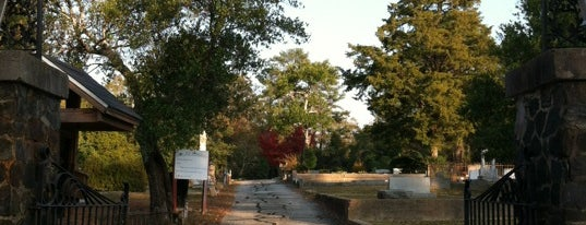 Pine Hill Cemetery is one of Places to come and check out in the city..