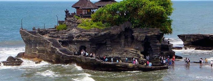 Tanah Lot Beach is one of Bali.