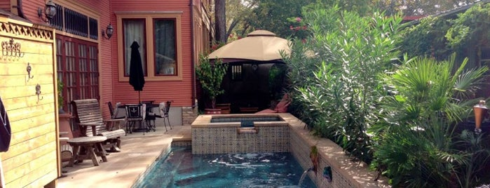 Hyde Park Inn Bed and Breakfast is one of The Austin Boutique Experience.