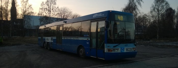 HSL Bussi 40 is one of Public transportation.